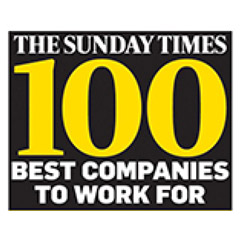 Sunday Times 100 Best Companies to work for logo